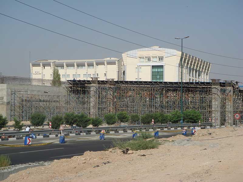 پروژه پل شهید یاسینی شرکت ضمان